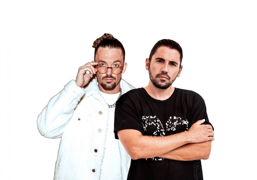 Dimitri Vegas & Like Mike Djs parties Ushuaia Ibiza club
