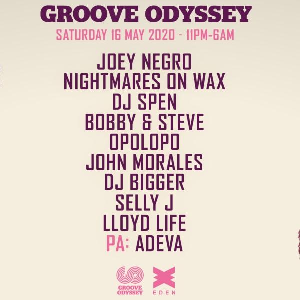 fiesta Groove Odyssey Weekender 2020, Eden Ibiza