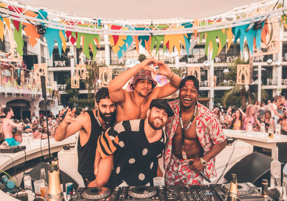 Rudimental Friends Pool Party