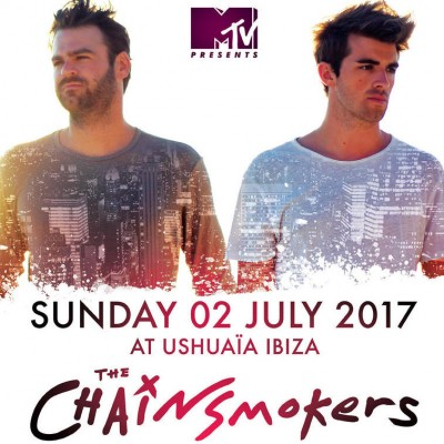 MTV presents The Chainsmokers image