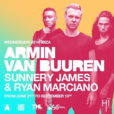Armin van Buuren + Sunnery James & Ryan Marciano image
