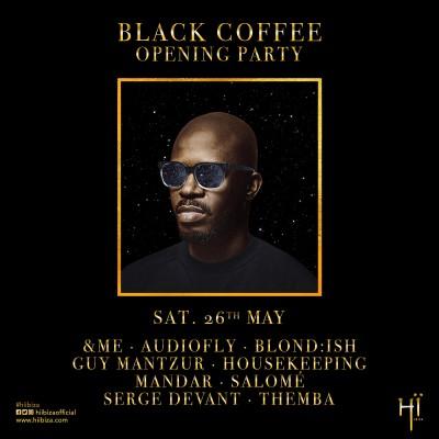 Hï Ibiza & Black Coffee Opening Party image