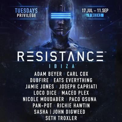 Resistance Ibiza image