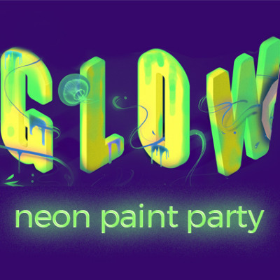 GLOW Neon Paint Party image
