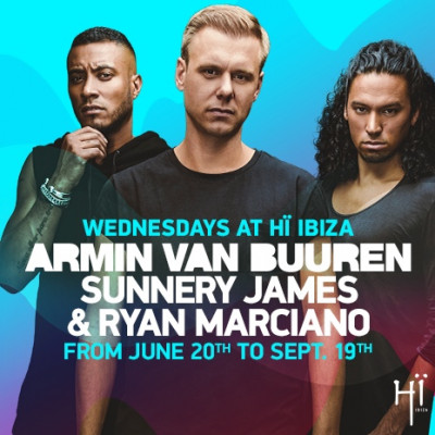Armin van Buuren and Sunnery James & Ryan Marciano image