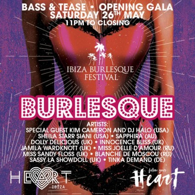 Ibiza Burlesque Festival at Heart image