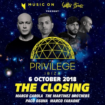 Privilege & Music On | The Closing