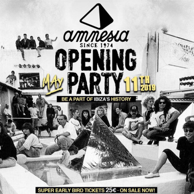 Amnesia Opening Party 2019 image