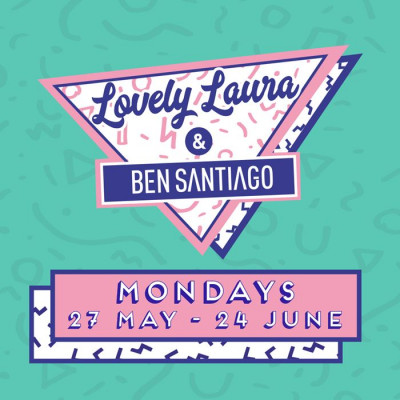 Lovely Laura & Ben Santiago Pool Party