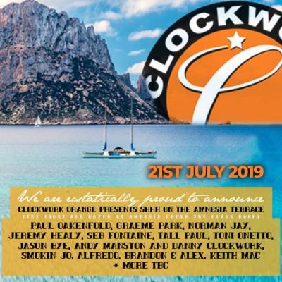 Clockwork Orange at Amnesia