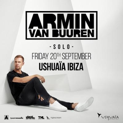 Armin Van Buuren SOLO @ Üshuaia Ibiza | Sant Jordi de ses Salines | Islas Baleares | España