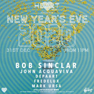 New year's eve at Heart