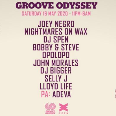 Groove Odyssey Weekender