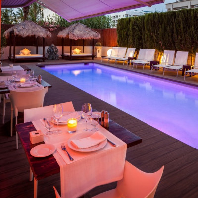 Enjoy a Menu at Pacha Hotel