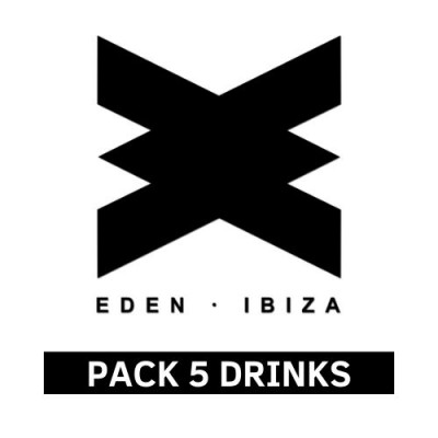 Pack 5 Drinks at Eden Ibiza